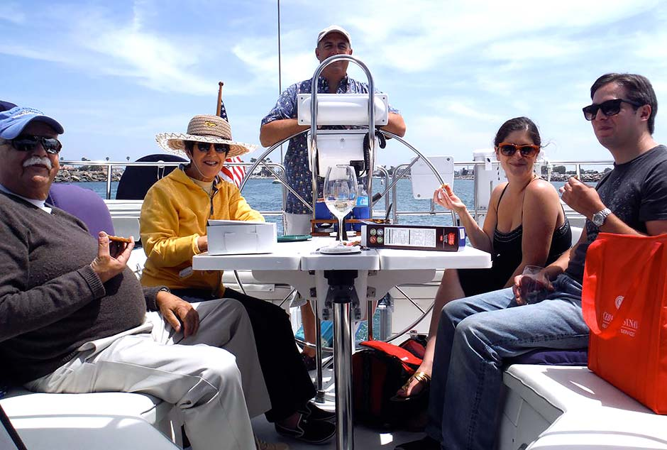 family sailing charter